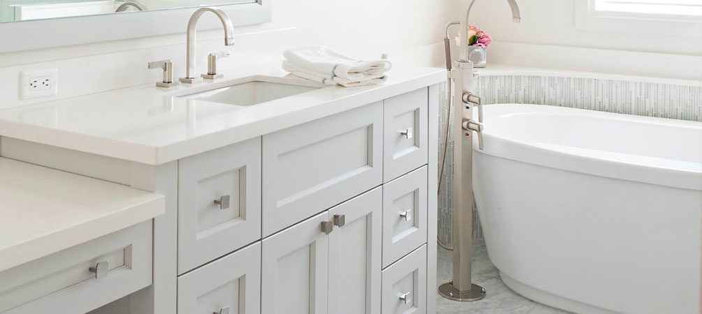 Stoney Creek Lake House Bathroom Cabinets
